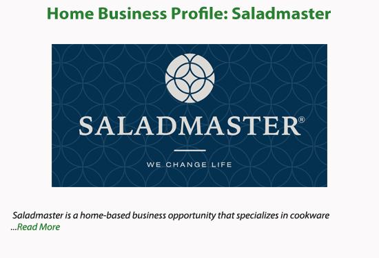 saladmaster business plan